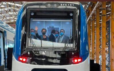 MTT inspeccionó nuevos trenes para el Biobío y La Araucanía