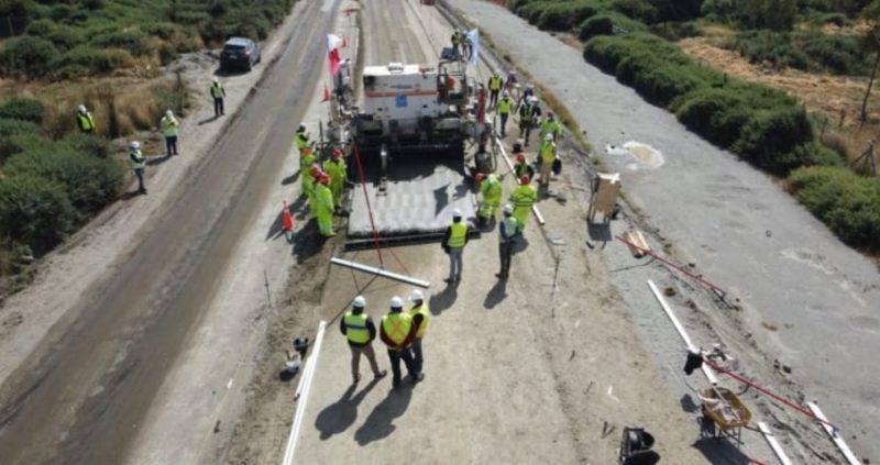Obras de construcción del bypass de Castro presentan un 13% de avance