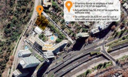 Providencia iniciará invalidación de permiso para levantar edificios en jardines del Sheraton
