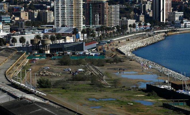 Este martes comenzaron oficialmente las obras de construcción del proyecto Parque Barón de Valparaíso