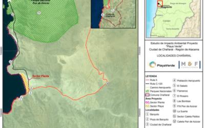 """Controvertido proyecto minero """"Playa Verde"""" llega al Primer Tribunal Ambiental"""