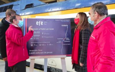 Nuevos trenes y 10 buses eléctricos: anuncian fecha de mejoras para el transporte en La Araucanía