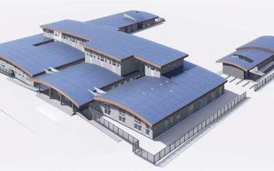 Renovado hospital en el sur de Chile