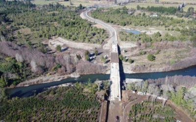 Puente Duqueco será entregado el primer semestre del próximo año