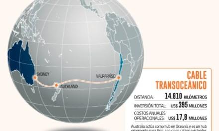 Desarrollo País define asesores e inicia búsqueda de socios estratégicos para fibra óptica Asia-Pacífico