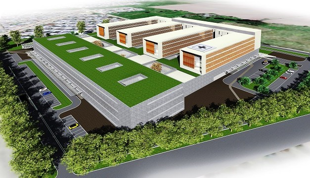 Un cinco por ciento de avance tienen las obras de construcción del mega hospital de Linares