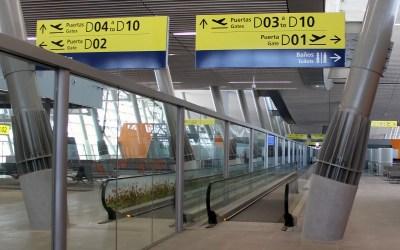 El nuevo Terminal Internacional del Aeropuerto de Santiago por dentro