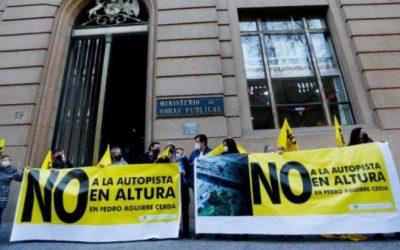 Comunidad de Pedro Aguirre Cerda pide al MOP respetar construcción soterrada de tramo de Ruta 78