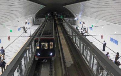 Cuales son los nombres y ubicaciones tentativas para las Líneas 8 y 9 del Metro de Santiago