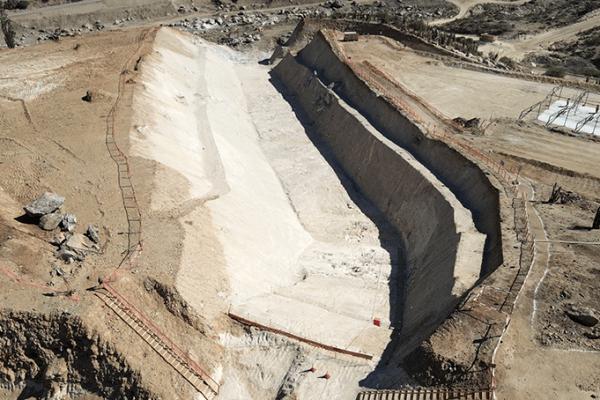 La Constructora China CHEC solicitó al MOP Concesiones la suspensión de su contrato en Embalse Las Palmas