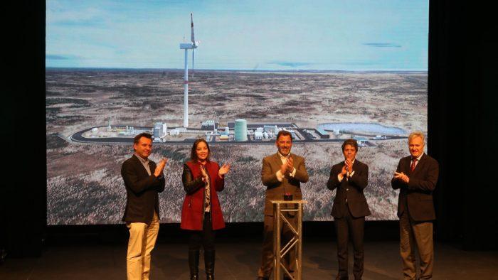 En Magallanes se inicia la construcción de la primera planta que producirá el Combustible del Futuro.