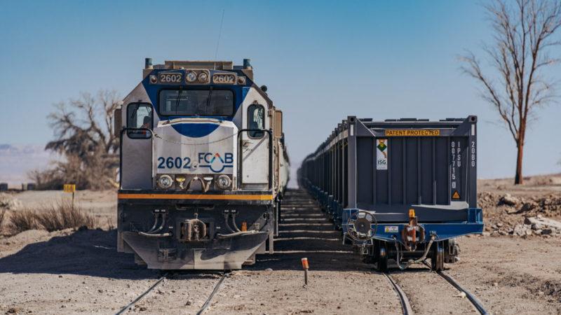FCAB proyecta transformar locomotoras 100% a Hidrógeno Verde