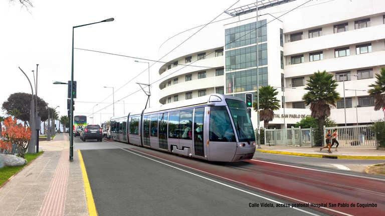 Tranvía entre La Serena y Coquimbo se licitará recién el año 2023