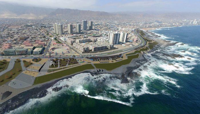Más de $10.500 millones para financiar nuevo borde costero en sector Pinares-Trocadero de Antofagasta