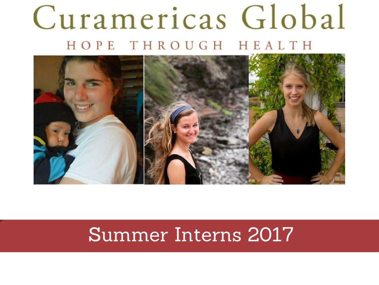 Internships Design 2017 Summer
