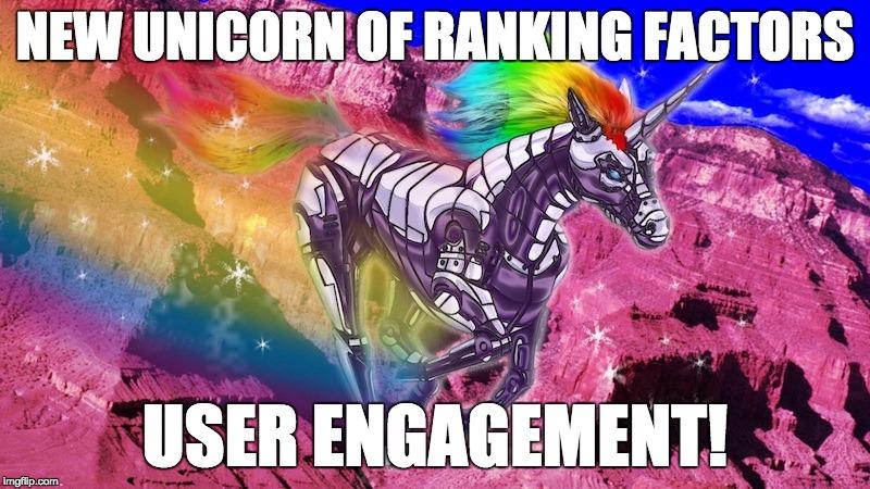 new unicorn of SEO ranking factors