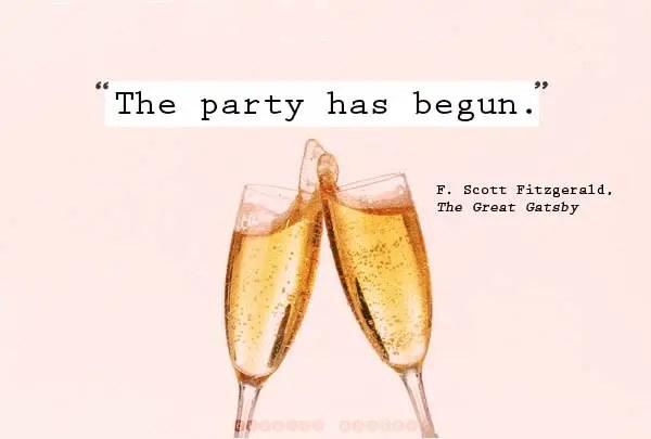 The Party Has Begun