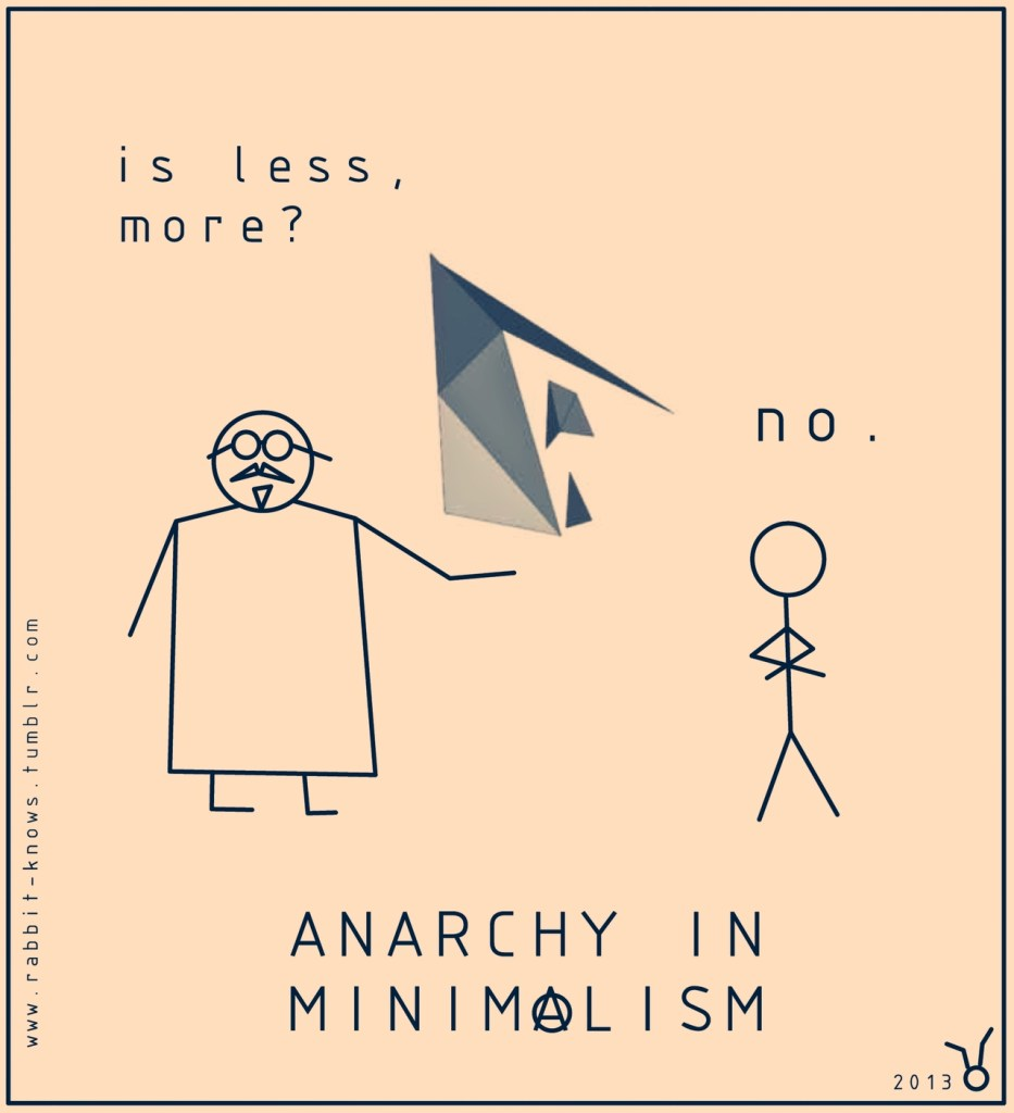 10 - Anarchy in Minimalism