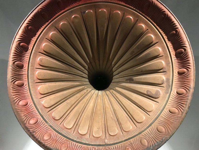 gramaphone horn Estonian National Museum