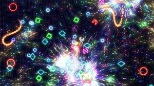 Geometry Wars 2: a simpler art
