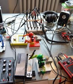 When Legos and Robots Sync