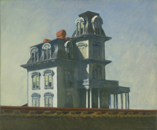 """House by the Railroad""  Date: 1925Medium:Oil on canvas Dimensions:24 x 29"" (61 x 73.7 cm)"
