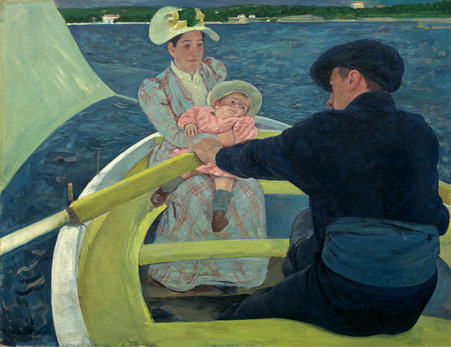 Mary Cassatt (American, 1844 - 1926 ), The Boating Party, 1893/1894, oil on canvas, Chester Dale Collection