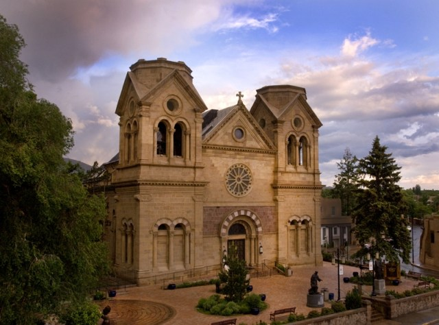 Cathedral Basilica of St. Francis d'Assisi: Photo by LeRoy N. Sanchez