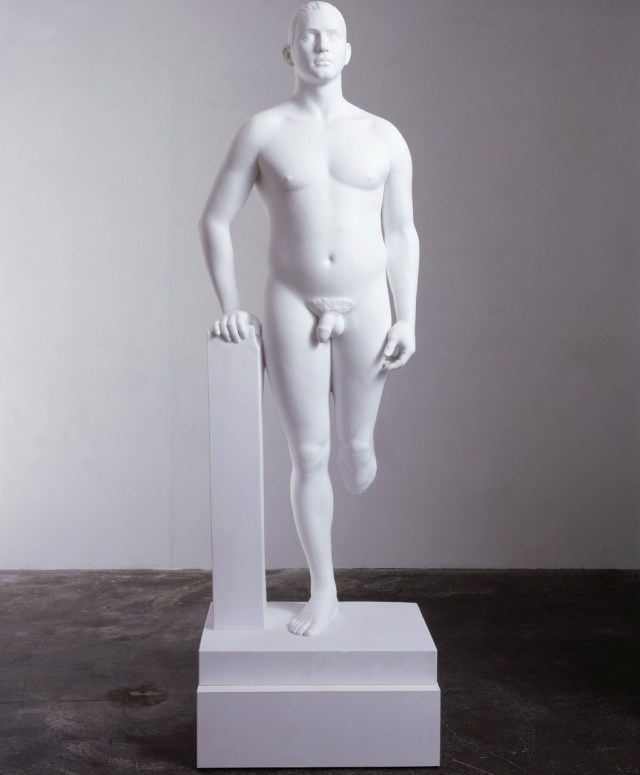Jamie Gillespie Marc Quinn, 1999 Marble and plinth, 80h x 51d cm