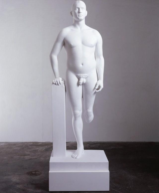 Jamie Gillespie Marc Quinn, 1999 Marble and plinth, 80h x 51d cm