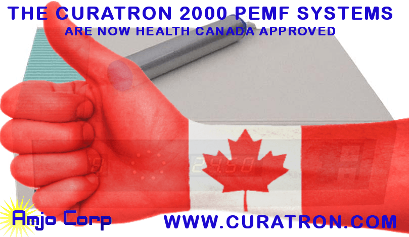 Health Canada has Approved the CURATRON for use in Canada – Great News Eh!