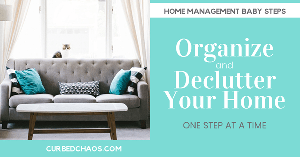 Organize and Declutter Your Home – From Overwhelmed to Organized
