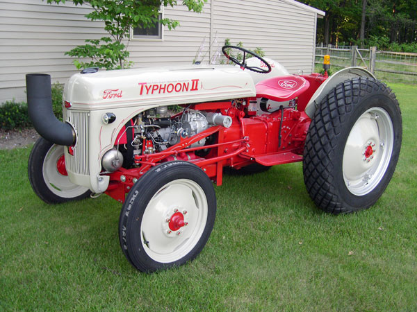 ag history ford n series tractors and