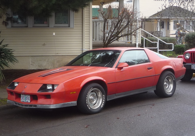 Curbside Classic 1984 Chevrolet Camaro Z28Rally Wheels Absolve