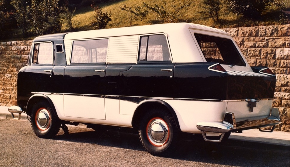 1958 Jeep Fc 150 Mini Van Color Photos Discovered