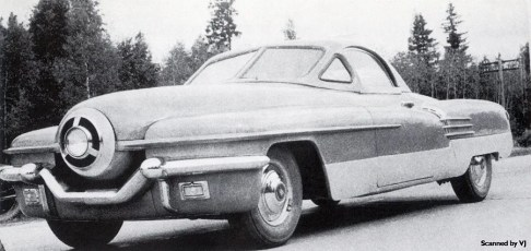 ZIL 112 Cyklon Experimental Car 1951 (Russia)