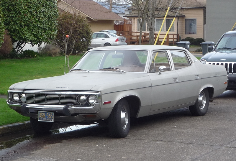 Curbside Classic Amc Matador Sedan The Stench Of Death