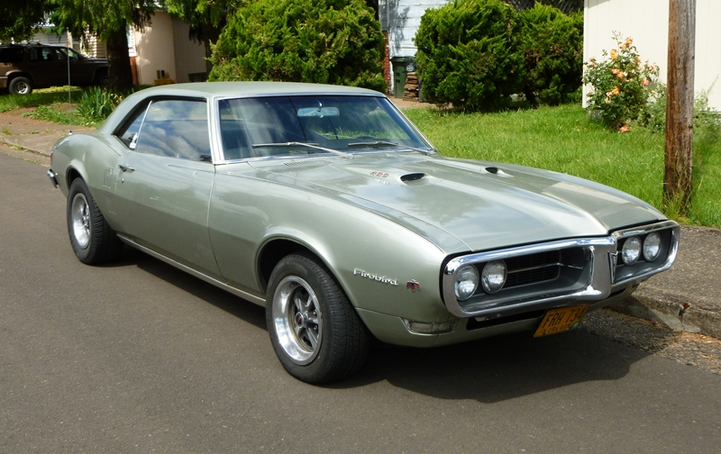 Classic Curbside Classic 1968 Firebird 400  Reliving Childhood