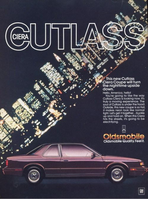 olds 1987 cutlass ciera coupe_1987_side
