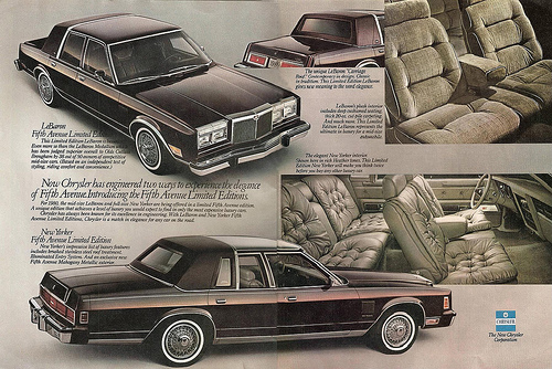 Curbside Classic 1980 Chrysler Lebaron A Car And A Company In Transition Curbside Classic