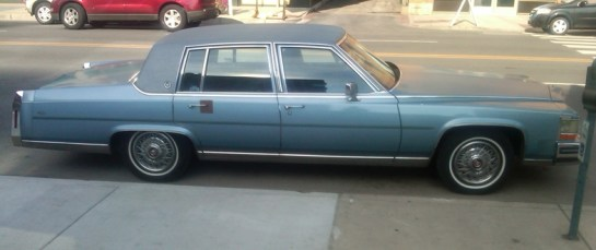 Curbside Classic 1987 Cadillac Brougham The Elder Statesman Curbside Classic