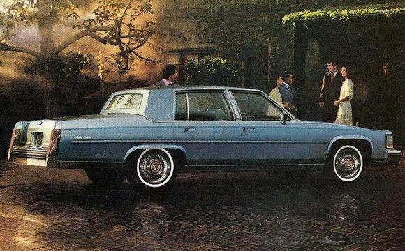 Clic Curbside Clic: 1987 Cadillac Brougham – The Elder Statesman