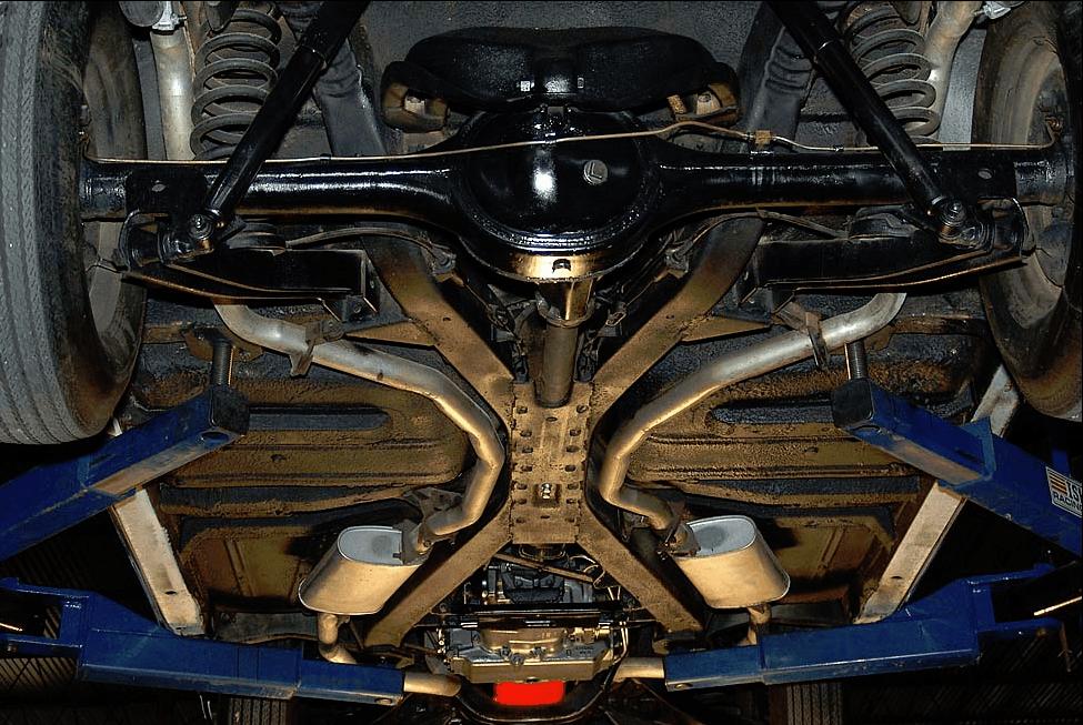 Chevy 58 X Frame