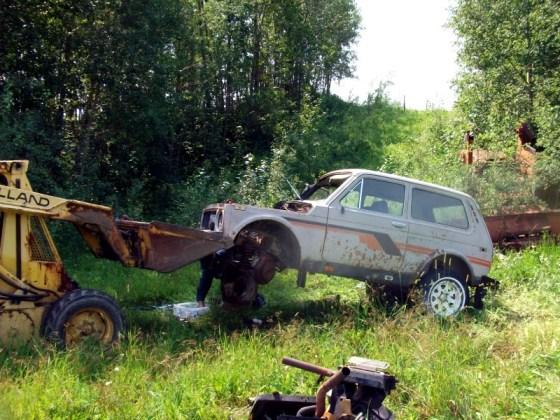 1985 Lada Parts, Parts car