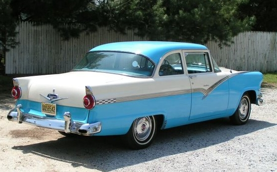 Curbside Clic: 1956 Ford Fairlane – Beautiful, But Still The ...