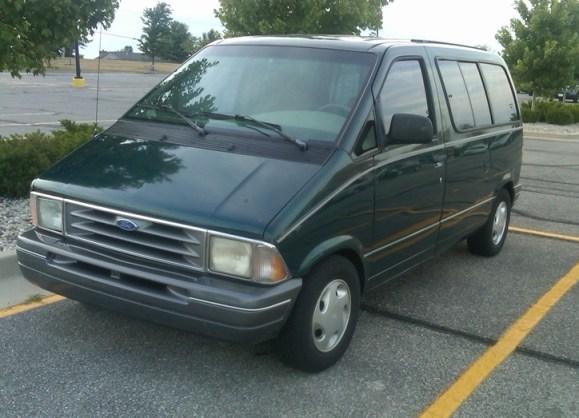 ford aerostar minivan