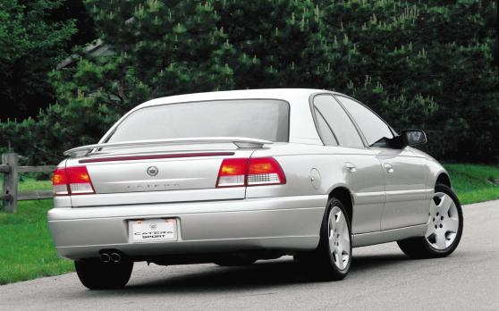 Between The Demise Of Allante Which Was Never Really Competitive In Its Class And Introduction Catera 1997 Cadillac Had Only Seville To