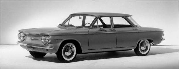 Automotive History How The 1960 Corvair Started A Global Design Revolution