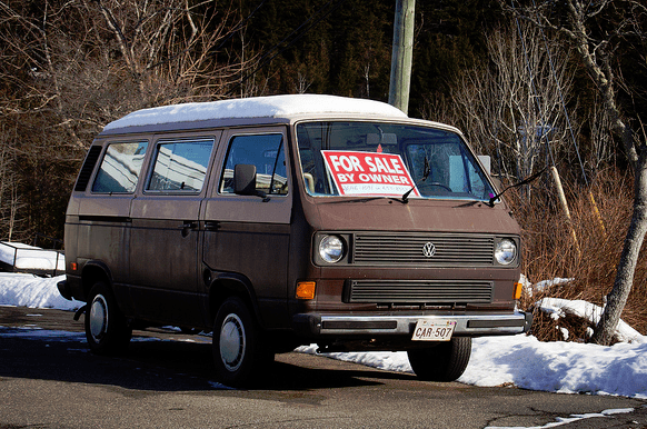 Cars Of A Lifetime 1982 Vw Vanagon Diesel Slower Than A Brown