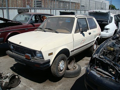 19e55759bee5d8 So we come to the end of the Yugo saga in America. I would venture to guess  that there are fewer than 500 running condition Yugos still on the road in  the ...